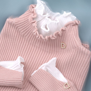 High Quality Turtleneck Sweater Women Pullover Autumn Winter Solid Knitted Sweater Casual Female Vintage Oversized Sweater P234