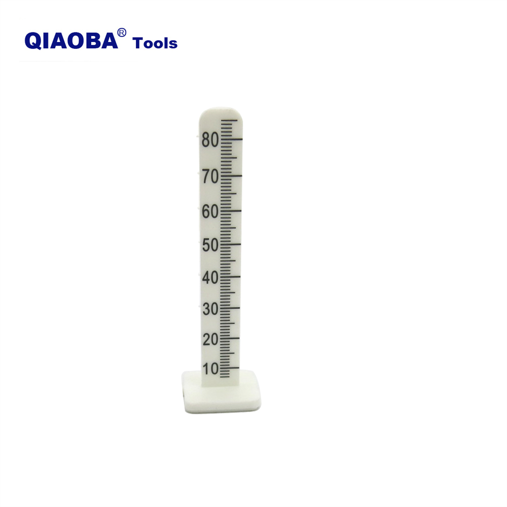 80mm Floor Professional White Plastic Adhesive Self Leveling Peg Level Pin For Cement Floor Level Setting  50 Pack