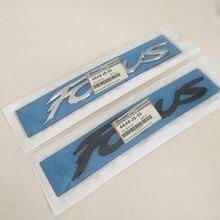 1 pçs abs f-ocus carta do carro tronco traseiro decalques emblema adesivo decalque estilo do carro acessórios de automóveis