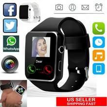 A1 impermeável relógio inteligente sem fio gsm sim telefone câmera para android/ios