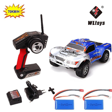 70km/h RC Car WLtoys A969-B 2.4G 1/18 Scale Remote Control Off-road Racing Car High Speed Stunt SUV Toy Gift RC Car Shockproof