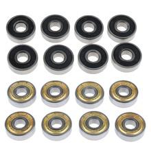8pcs Chrome Steel Skateboard Bearings Longboard Skate Ball Bearing for Roller Skate Inline Skate Speed Skate Scooters Cruiser цена