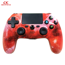 лучшая цена K ISHAKO Wireless Bluetooth 4.0 Gamepad Joystick For PS4 Controller DualShock 4 Gamepad PlayStation 4