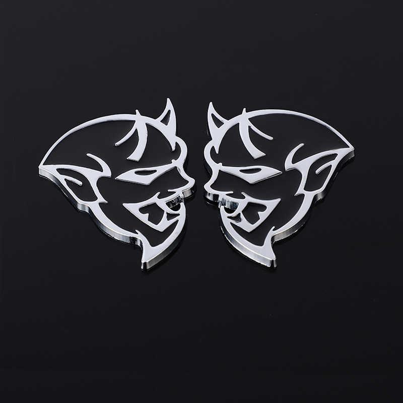 ملصقات السيارات شعار شارة الشارات ل دودج تشالينجر SRT شيطان SRT8 RC Hellcat شاحن عيار مصبغة اكسسوارات السيارات التصميم