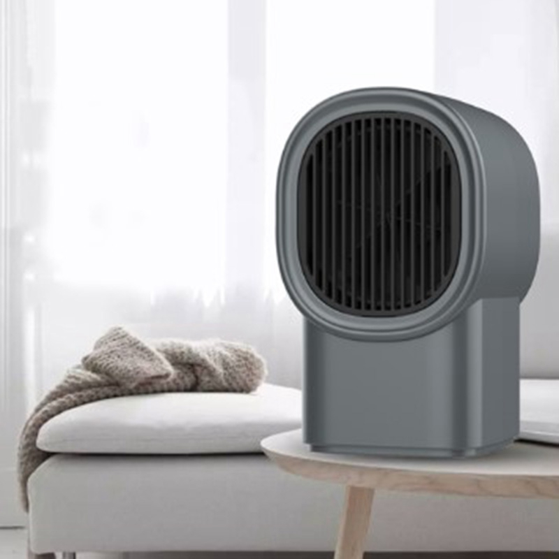 Electric Wall Heater Mini Portable Plug-In Personal Space Warmer Adjustable Thermostat Indoor Heating Camping Any Place US PLUG