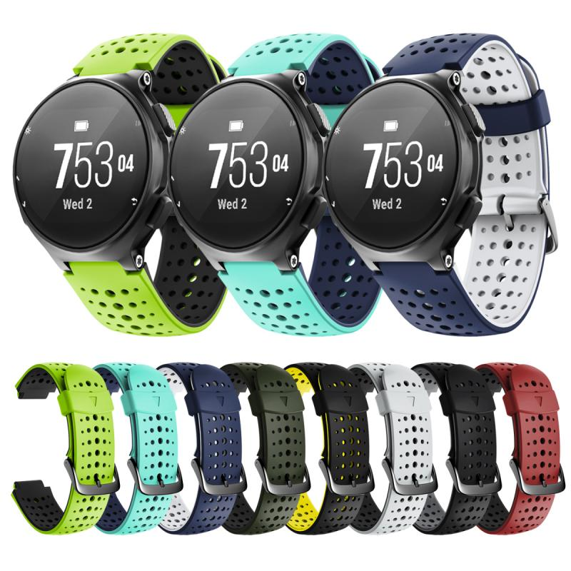 1pcs For Garmin Forerunner 235 Wristband Band Strap Soft Silicone Replacement Sport Band Breathable Replacement Sports Bracelet