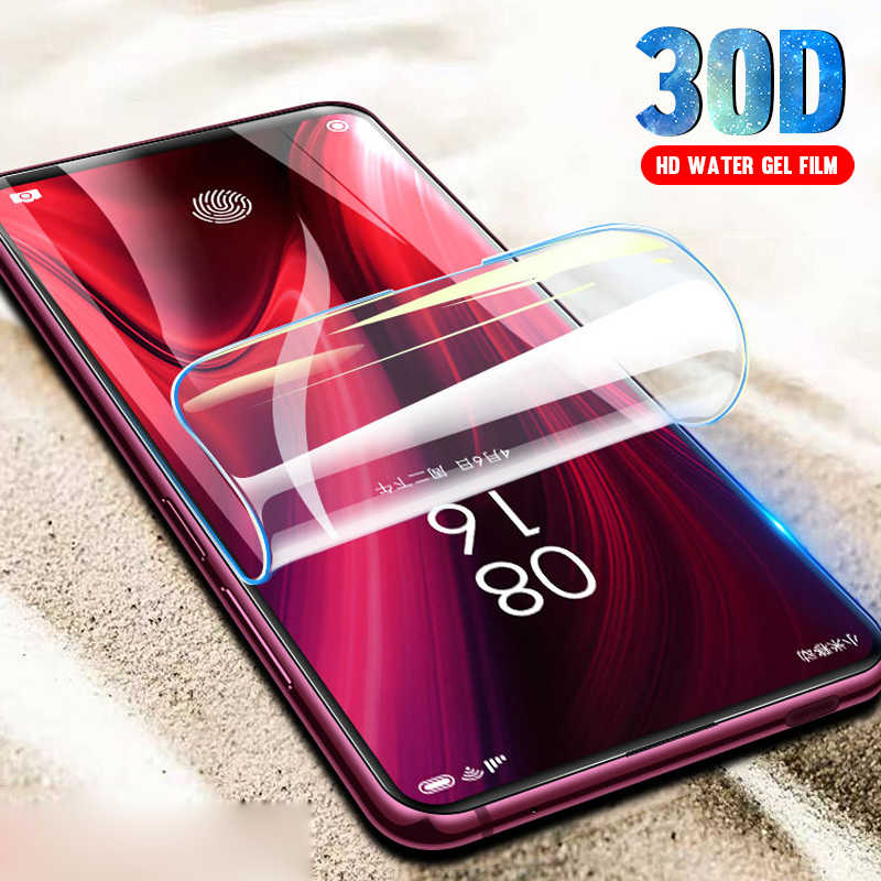 3pcs Screen Protector Hydrogel Film For Redmi k20 7a note 7 pro Protective Film For Xiaomi mi 9 8 cc9 cc9e A3 9t pro Not Glass