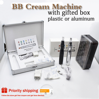 7 Color Led Light BB Cream Machine derma pen Micro needles bb cream pen for BB cream glow beauty tools skin care treatment vichy idealia bb cream