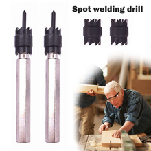 4 Pcs/Sheet Metal Double-Sided Rotary Drill Bit High Speed Steel Welding Drilling Machine Drill Repair Power Spot Welding Tool