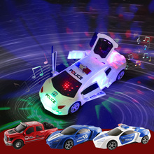 Electric Dancing Deformation Rotating Car Universal Police Car Toy For Boy Toy Child Kid Girl Car Christmas Birthday Gift