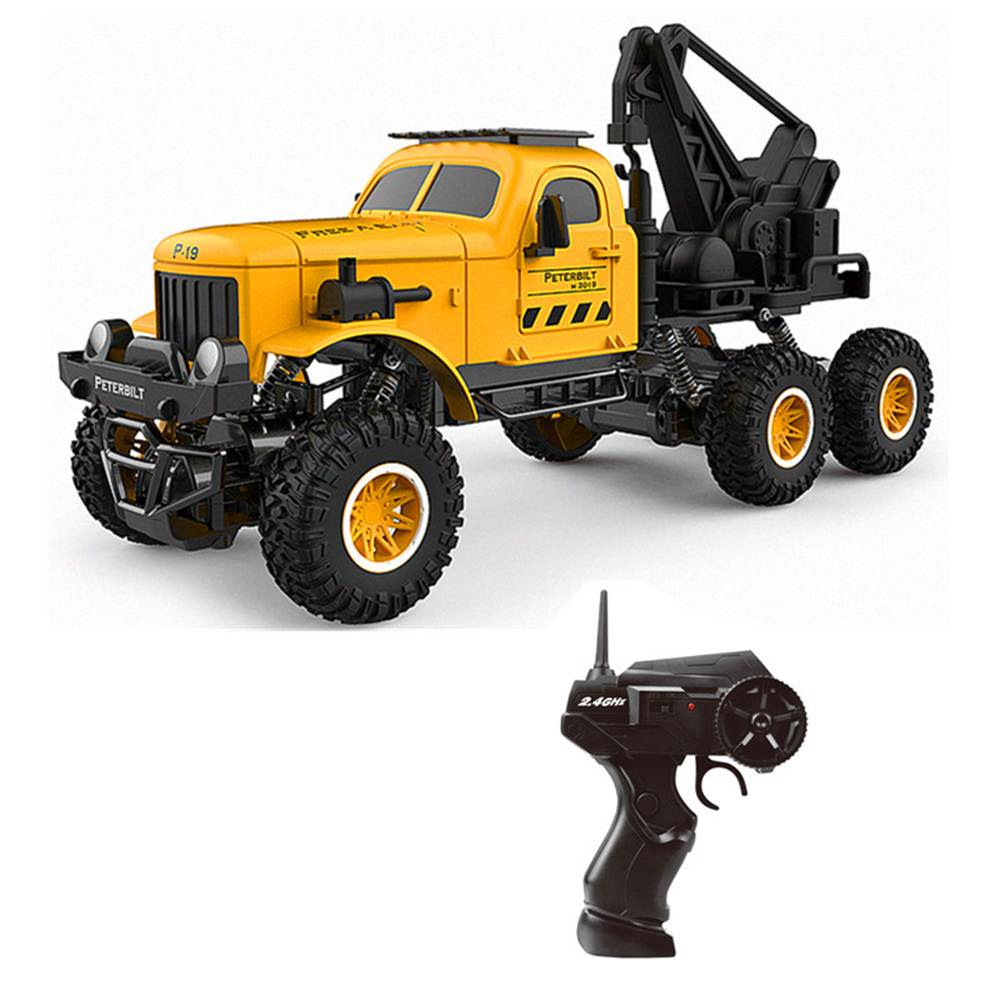 Rc car 1:16 military engineering vehicle 6wd remote control sand off-road car obstacle remote control car military truck