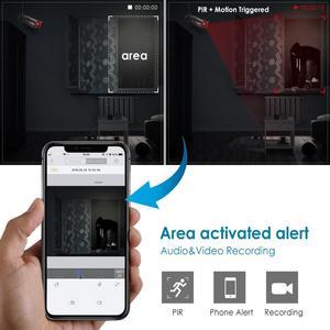 Image 5 - ANRAN 1080P IP Camera Wireless Security Camera Outdoor HD Surveillance Night Vision Home Wifi Camera Metal Bullet Camera