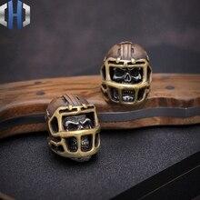 American Skull Rugby Soul Multicolor EDC Umbrella Rope Knife Handmade DIY Pendant Beads