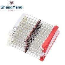 Shengyang (2v4 a 33v) 270 pces 27 valores 1/2w 0.5w diodo zener sortido conjunto de sortimento novo