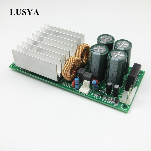 Lusya tda8950 placa amplificador digital 300w mono canal amplificador de áudio 8 ohm para amplificador de teatro em casa t1202