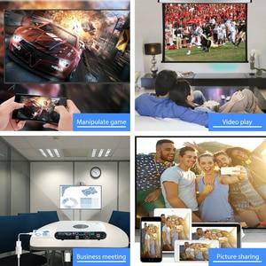 Image 5 - IOS الهاتف HDMI كابل HDTV USB AV محول الصوت والفيديو الناقل الحبل آيفون 11 12 5 6 7 8 Plus X XS ماكس XR باد الاتصال إلى التلفزيون