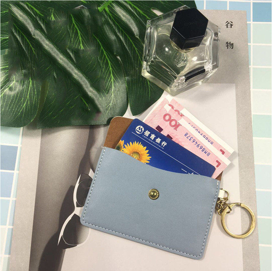 2019 New Fashion Candy Color Ladies Simple Long Wallet Coin Purse Card Bag Handbag
