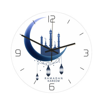 Trójwymiarowy zegar akrylowy festiwal Ramadan Metal islamski zegar ścienny artystyczny wystrój domu islamski wystrój wycisz bezgłośny tanie i dobre opinie ISHOWTIENDA CN (pochodzenie) Nowoczesne 0614 GEOMETRIC S SHOWN Jedna twarz Cyfrowy ZAGARY ŚCIENNE AS SHOWN Obracalne w starodawnym stylu