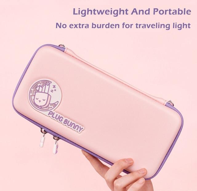 น่ารักกระเป๋าสำหรับNintendoคอนโซลSwitch Joycon Travel Storage Hard Shell BagสำหรับNintendo Switchเกมอุปกรณ์เสริม