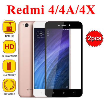 2pcs redmi 4x protective Glass for xiaomi redmi note 4 4a pro tempered glass Screen Protector xiomi red mi 4 x toughened film