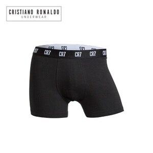 Image 3 - 2020 popüler marka erkek baksır şort iç çamaşırı Cristiano Ronaldo CR7 kaliteli pamuk seksi külot çekin erkek külot