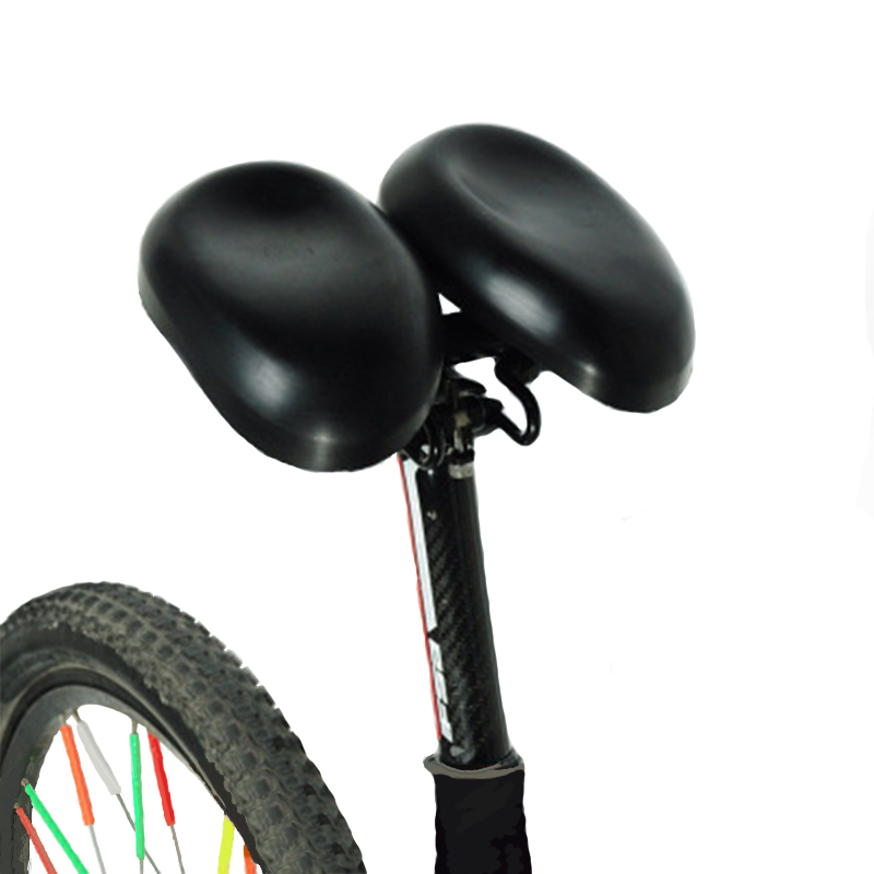 New MTB Mountain bike no-nasal saddle cushion Comfortable riding ergonomic design PU material breathable pressure resistant seat
