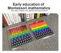 Новый 51 шт. Радуга Цвет фракции Плитки математические игрушки набор для демонстрации фракции процент лоскутное преподавания прибор