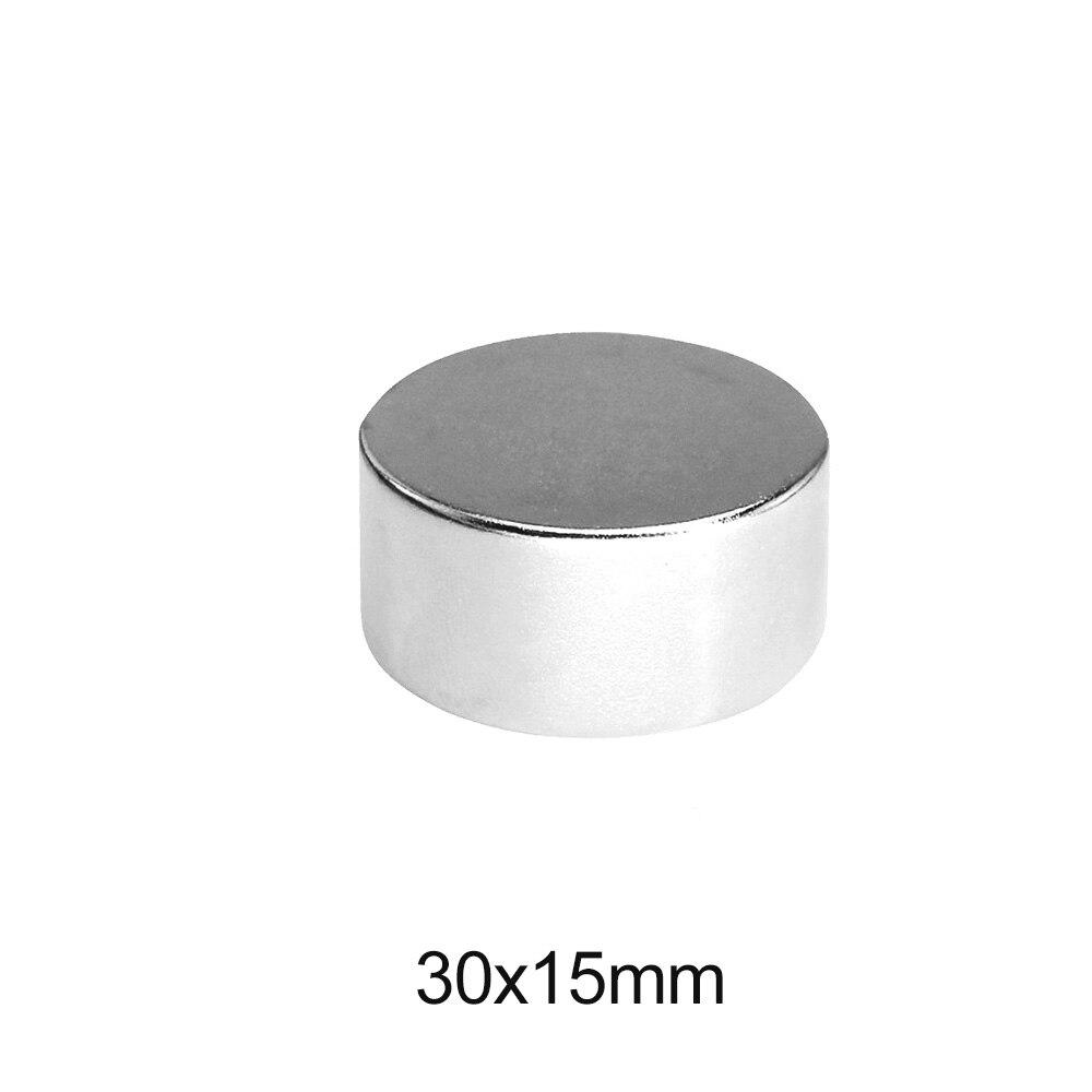 1/2/3/5 шт. 30x15 мм неодимовые сильные магниты диск 30 мм x 15 мм постоянный Круглый Магнит 30x15 мм мощный Магнитный Магнит 30*15 мм
