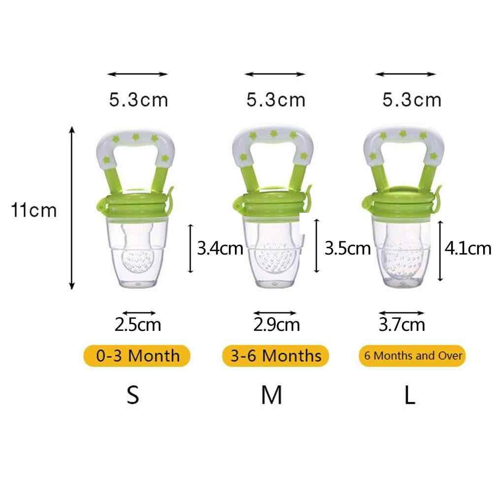Alimentos de fruta fresca para niños taza de alimentación de pezón alimentador de leche seguro para biberones chupete Teat Nibbler Envío Directo