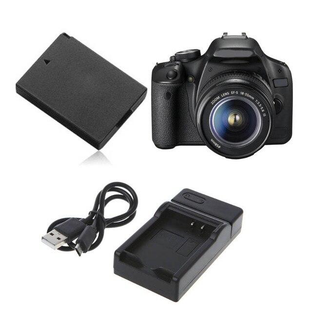 Carregador de bateria Para Canon LP E10 EOS1100D E0S1200D Rebel Beijo X50 T3 Portátil