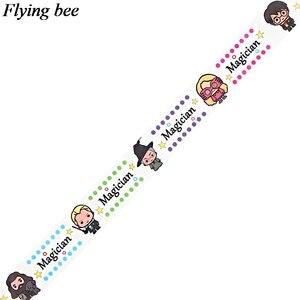 Image 3 - Flyingbee 15mm X 5m papier Washi ruban film adhésif créatif bricolage Scrapbooking autocollant étiquette ruban de masquage X0775