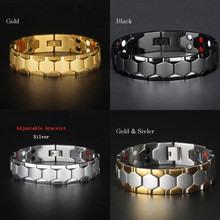Moda 3 em 1 emagrecimento pulseira pulseiras terapia magnética pulseira de saúde luxo jóias perda de peso energia atacado z202