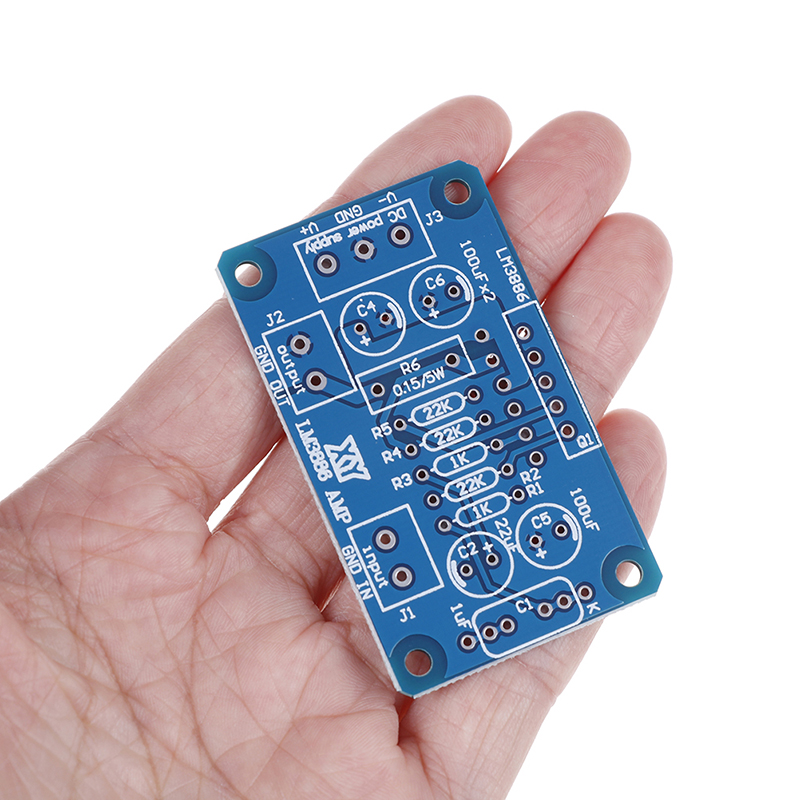 New Arrive DC+20-28V 68W LM3886 TF HIFI Power Amplifier Board PCB Parallel Bare Board