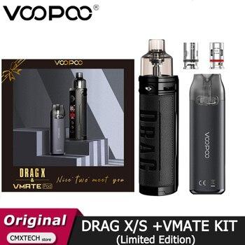 VOOPOO – vaporisateur de cigarettes électroniques DRAG X / DRAG S et VMATE Pod, édition limitée, cartouche de 4.5ml, Vm5, coffret cadeau