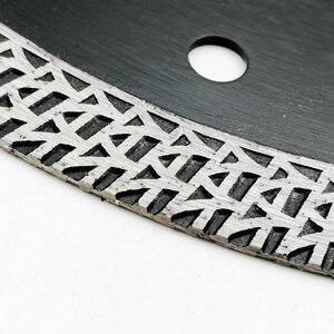 Image 5 - SHDIATOOL 1 шт., диаметр 180 мм/7 дюймов, горячепрессованный спеченный алмазный режущий диск, сетка, турбо алмазный пильный диск, гранит, мрамор, плитка, керамика