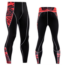 New Men Compression Skin Tights Leggings Run Jogging Sports Gym Fitness Workout Training Male Bottom MMA Trousers Pants