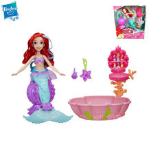 Hasbro My Little Pony Princess Ariel Colorful Spa Discolor Mermaid Girl Play House Doll Pretend Toy let s pretend sticker activity my princess castle