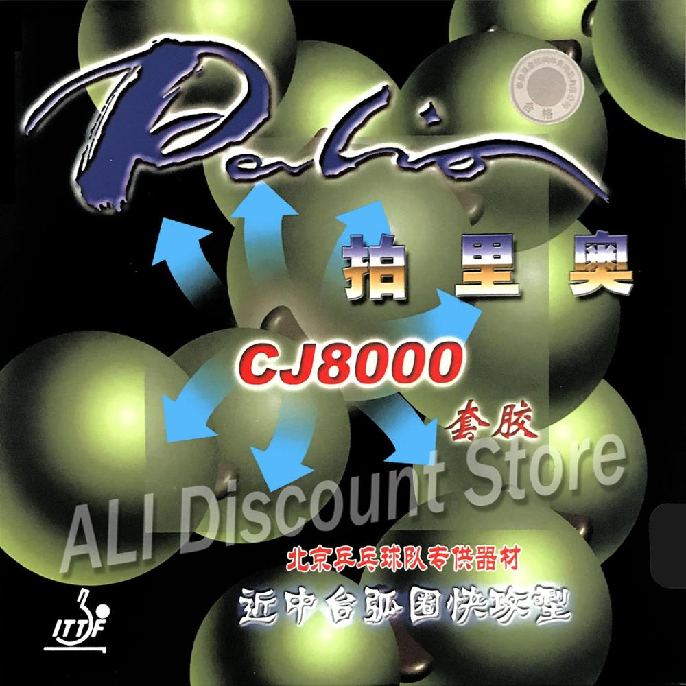 Palio CJ8000 Pips-In Table Tennis (PingPong) Rubber With Sponge (40-42 Degrees)