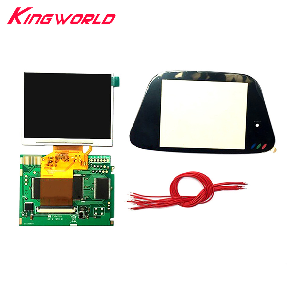 5pcs Full LCD Display Screen 3.5inch Highlight Screen Kit For Sega Game Gear GG Game Console Modification(China)