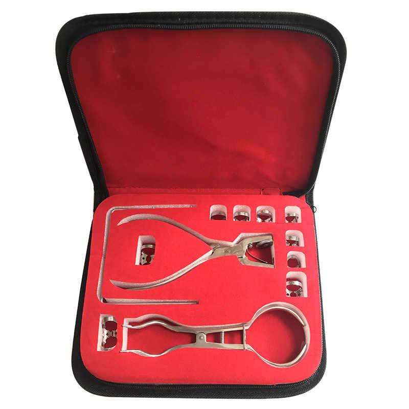 Nha Khoa Đầm Perforator Lỗ Puncher Bộ Cao Su Đầm Miệng Khoảng Cách Miệng Dụng Cụ Mở Mủ Cao Su Nguyên Chất Nha Khoa Đập Cao Su Đập Bản Mẫu Nha Sĩ dụng Cụ