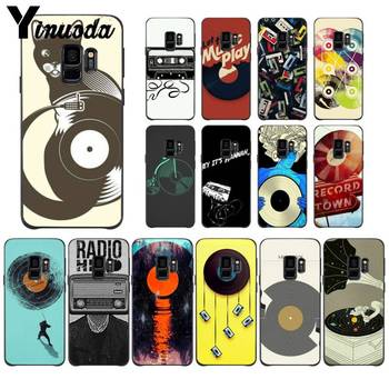 Yinuoda Retro fashion record tape gramophone DIY Printing Drawing PhoneCase for Samsung Note 3 4 5 7 8 9 10 pro M10 Mobile Cases image