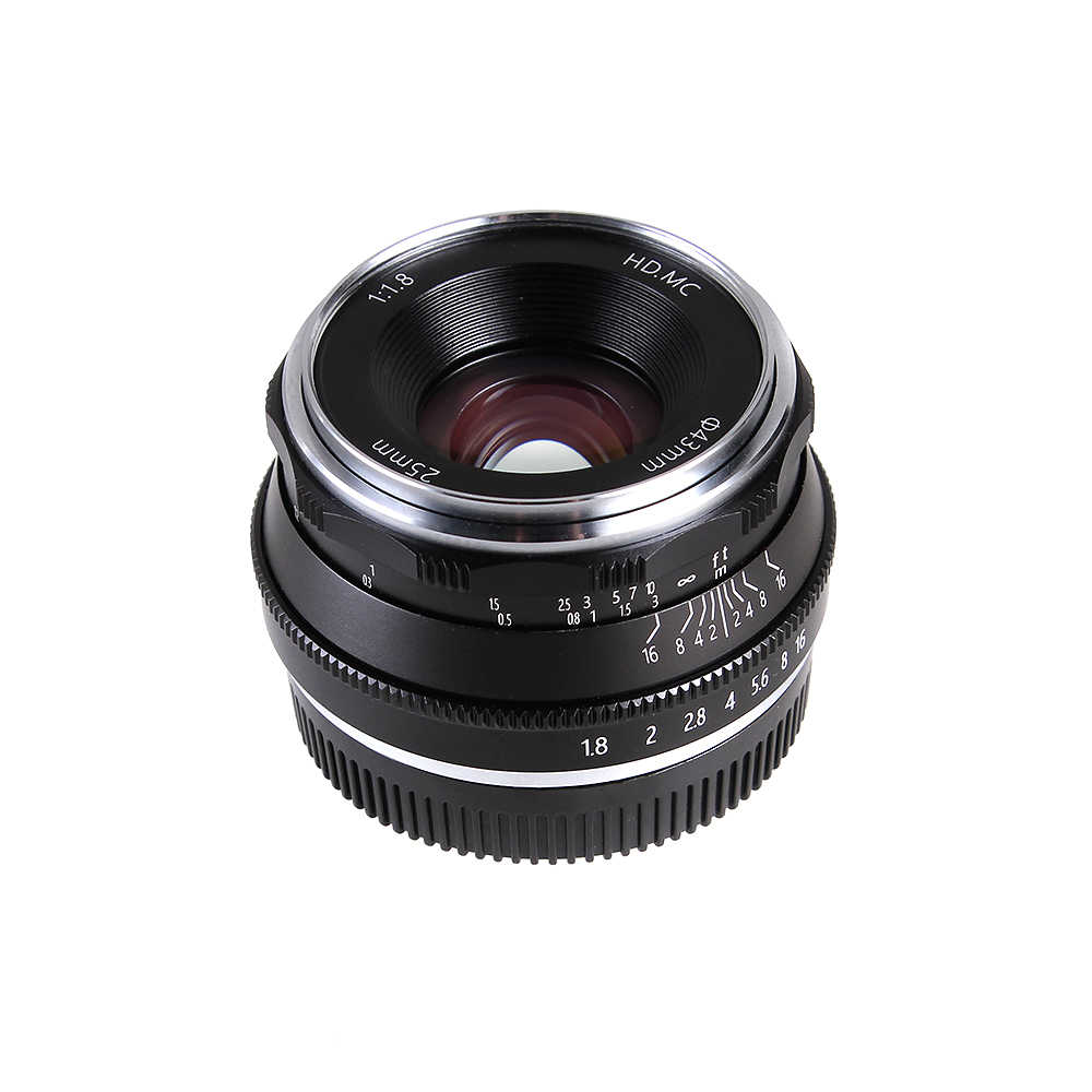25 мм F1.8 основной объектив ручной фокусировки MF для Fujifilm Fuji x-крепление XH1 XA5 XA10 XA20 XE3 XE2S XT10 XT20 XT2 камеры
