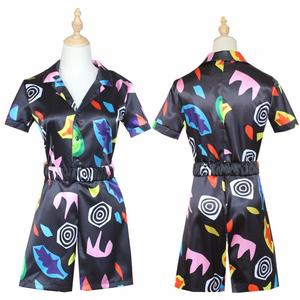 Strange Things Season 3 Cosply Costume Strange Story Christmas Adult Floral Jumpsuit Role Play Party Dress For Man Woman