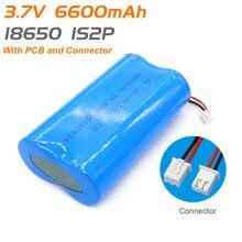 1s2p 18650 6600mah baterie litowe 3.7v 18650 akumulator litowo-jonowy z przewodami i JST-XH 2Pconnector