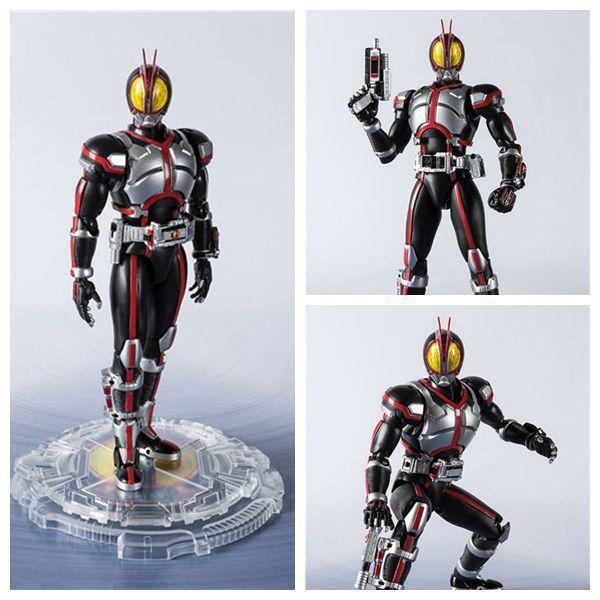 SHF Masked Rider Faiz 20 Kamen Rider Kicks Ver. BJD Action Figure Model Toys