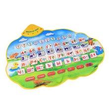 Высокое качество Детский обучающий коврик Русский алфавит обучающая игрушка язык раннее образование игрушечный коврик