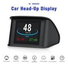 Universal T600 GPS Auto On Board คอมพิวเตอร์จอแสดงผลรถดิจิตอลขับรถ LED จอแสดงผล HUD Head Up Display สำหรับใดๆรถยนต์