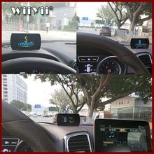 """GEYIREN T800 4.3 """"חכם דיגיטלי ראש למעלה תצוגה רכב HUAutomobile על לוח מחשב רכב דיגיטלי OBD נהיגה מחשב תצוגת מכוניות"""