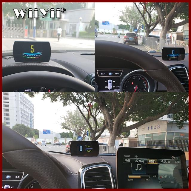 """GEYIREN T800 4.3 """"Smart Digital affichage tête haute voiture HUAutomobile ordinateur de bord voiture numérique OBD conduite ordinateur affichage voitures"""