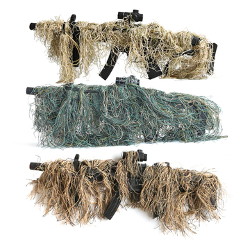 Hunting Ghillie Suit Gun Rope Cover Paintball Airsoft Rifle Wrap Cover Camouflage Hunting Accessories Rifle Blind Camouflage 1